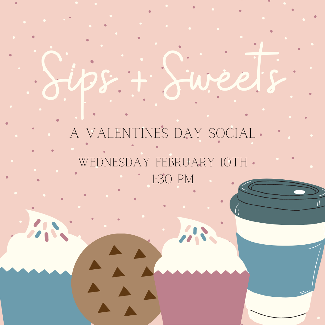 "Featured image for ""Sips + Sweets – A Valentine's Social"""